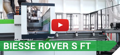 Video BIESSE Rover S FT